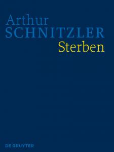 Cover der HKA Arthur Schnitzler: Sterben