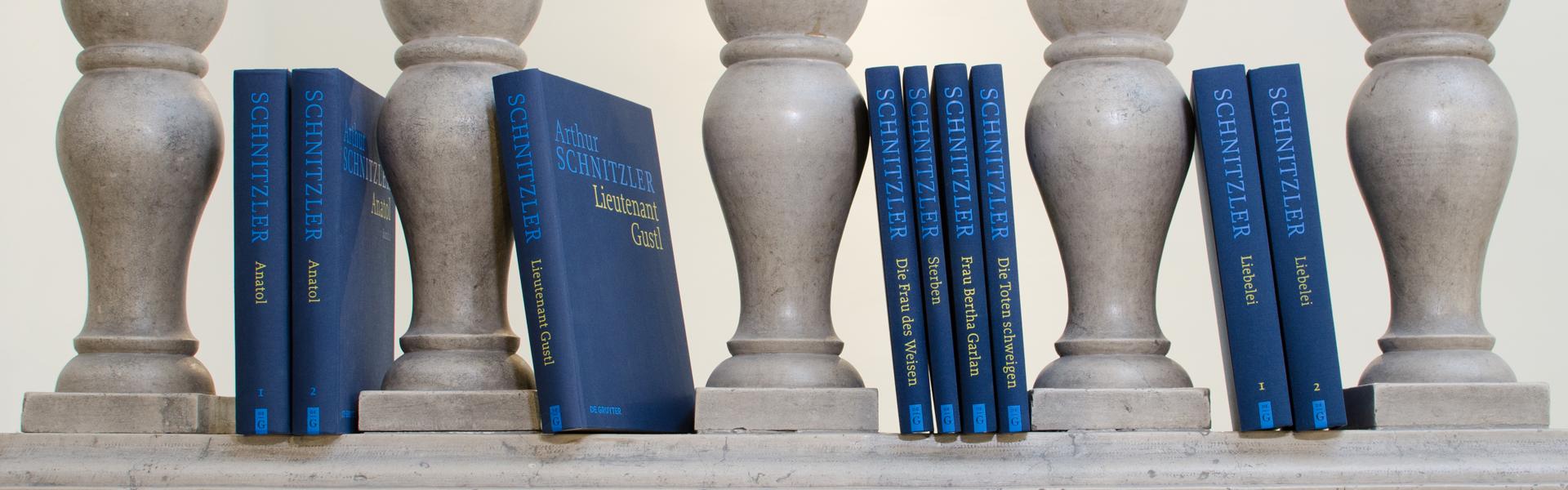Arthur Schnitzler Historisch-Kritische Ausgabe Bände
