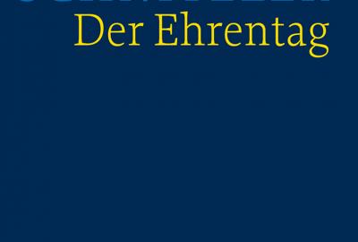 Cover der HKA Arthur Schnitzler: Der Ehrentag