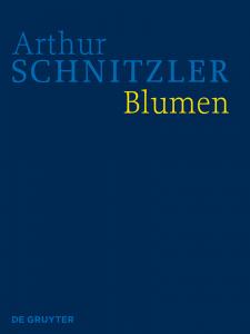 Cover HKA Arthur Schnitzler: Blumen
